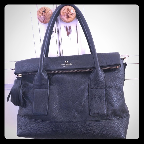 kate spade Handbags - NEW Kate Spade Southport Avenue Carmen tote black.